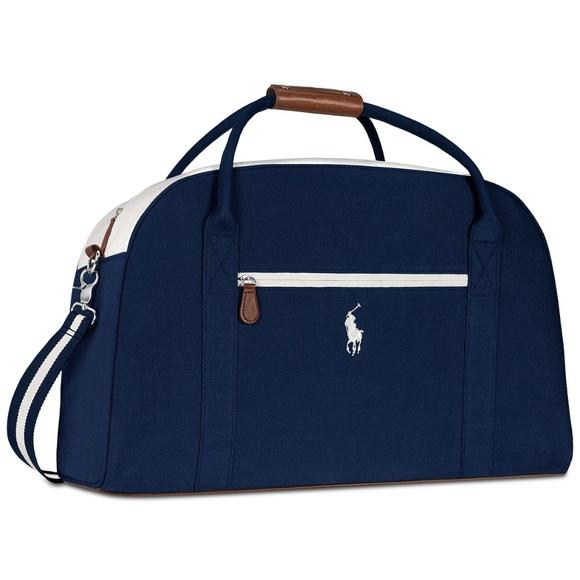 e8cdd5d8f7 Ralph Lauren POLO Blue DUFFLE BAG FINAL PRICE DROP